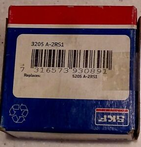 3205 A 2rs1 Skf Double Row Angular Contact Ball Bearing