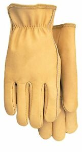 American Made Top Grain Cowhide Leather Work Gloves 608 Size Large