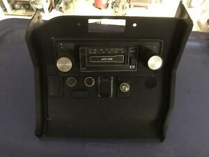 Mgb Center Dash Console