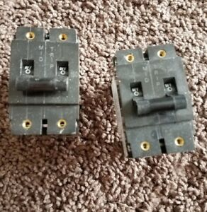 Lot Of 2 Heinemann Circuit Breaker Am1p z2 3w 1 Pole 150 Amp V 65dc