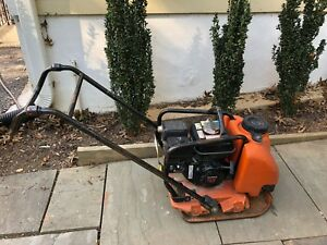 Mikasa Multiquip Plate Compactor With Honda Commercial Engine Water Tank