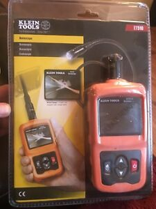 Klein Tools Et510 Video Borescope Inspection Camera New In Package