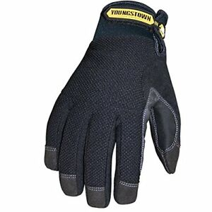 Youngstown Glove 03 3450 80 s Waterproof Winter Plus Gloves Small Black Strong