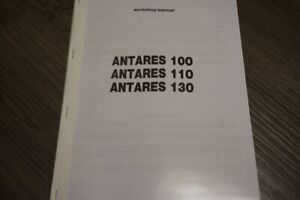Same Antares Tractor 100 110 130 Workshop Service Repair Manual Book