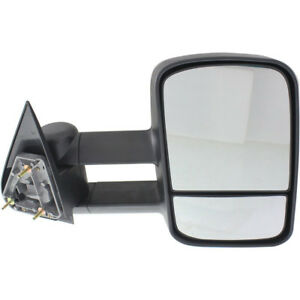 New Passenger Side Power Tow Mirror For Chevy Gmc Suburban 1992 1999