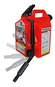 Gas Can With Rotating Spout 5 0 Gallons Surecan Rotate Nozzle Technology