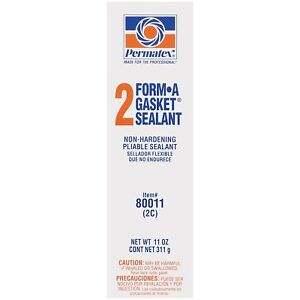 Permatex 80011 Form A Gasket No 2 Sealant 11 Oz Tube