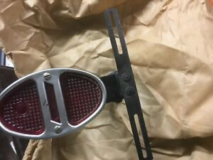 1931 1932 Chevrolet Coupe Tail Light And Fender Mount And License Plate Bracket