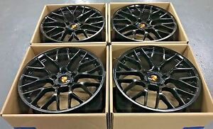 20 Porsche Cayenne Oem Gts Turbo 2018 Hybrid Wheels Rims Made Factory Set 4 New
