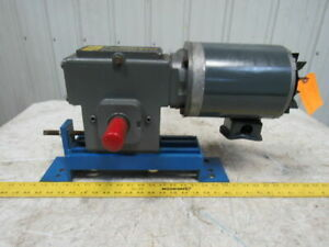 Winsmith 930mwns063x0ft 50 1 35rpm 208 230 460v 3ph Dual Output Shaft Gear Motor
