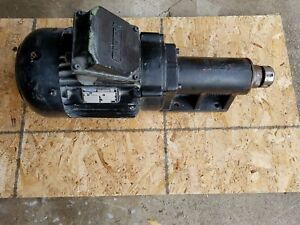 Perske Motor Router Drill Head Frl 90 14 2 15 Hp spindle Speed 17800 Rpm