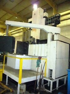 Tos Ski 16 63 Cnc Vertical Boring Mill New 1988