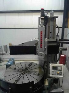 Berthiez Ie9340 Cnc Vertical Boring Mill Excellent Condition