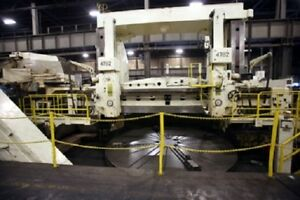 Skoda Sk 50a 17ft Vertical Boring Mill W side Head 2 Swiveling Ram Heads