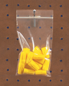 Pick Quantity 1 1000 3x5 4mil Reclosable W Hang Hole Clear Zip Lock Bags