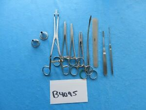 Codman V Mueller W Lorenz Surgical Instruments Lot Of 10