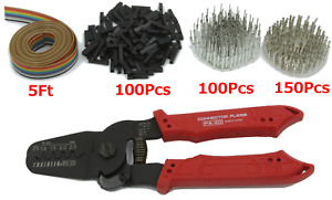 Engineer Pa 20 Wire Terminal Crimper Dupont Connectors Kit shipped From Usa