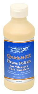 Frankford Arsenal Brass Polish 8 Ounce Bottle for Vibratory Case Tumblers 887335