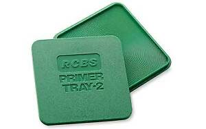 RCBS Reloading Equipment Easy to Handle Primer Tray 2 Square Shape 09480