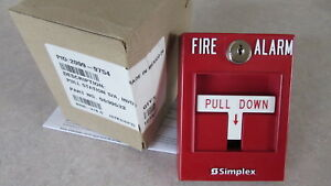 Simplex Grinnell Fire Alarm Pull Station 2099 9754 0630533 60 Day Doa Returns