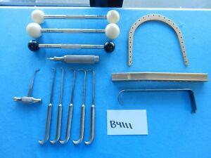 Richards Zimmer Surgical Orthopedic Instruments Lot Of 13