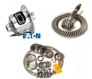 Gm 8 875 Chevy 12 Bolt Car 3 55 Excel Ring And Pinion Eaton Posi Gear Pkg