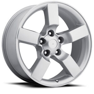 4 20 Silver Ford Lightning Style Expedition Wheels Rims Set 1997 2004 F150