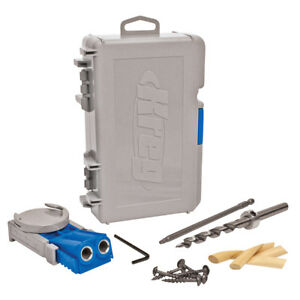 R3 Kreg Pocket Hole Jig Drill Guide For Timber 12 7 38mm Capacity 185823