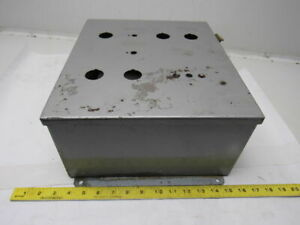 Mckinstry Steel Electrical Enclosure 14 X 12 X 6 W backplane