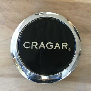 Cragar Custom Wheel Center Cap Hubcap 93 Chrome Aftermarket Rim Hub Cover