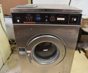 Speed Queen Commercial Front Load Washer 35lb With On off Switch Not Coin Operat