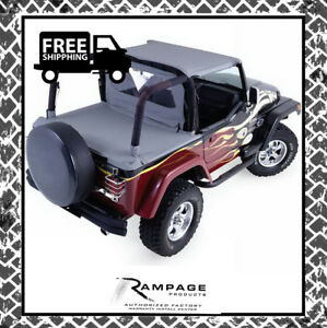 Rampage 992015 Soft Cab Top 1987 1991 Jeep Wrangler yj