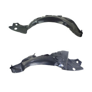 06 09 Milan 07 12 Mkz Front Splash Shield Inner Fender Liner Left Right Set Pair