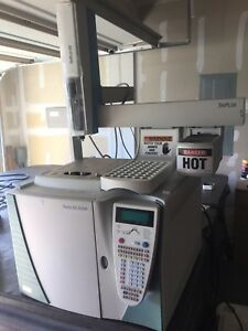 Thermo Trace Gc Ultra With Triplus Hs Auto sampler