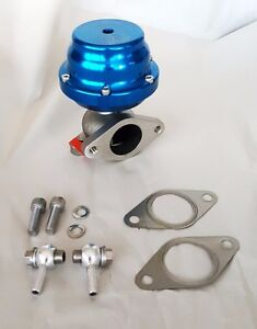 Tial 38mm Authentic External Turbo Wastegate 1 Bar Blue F38