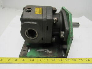 Parker M2b90658 08 High Speed Hydraulic Motor 7 8 Shaft 1 5 16 Ports