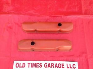 Mopar Dodge Plymouth 413 426 Max Wedge Original Valve Cover Set 4 Bolt