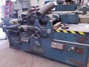 Diehl D 8 4 Head Push Feed Moulder Surfacer Made In The Usa Quality