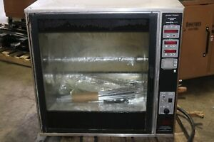 Electric Rotisserie Rotating Oven Henny Penny Scr 8 208v 3ph
