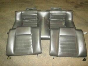Rear Seat Assembly Leather Fits 06 Mustang 263373