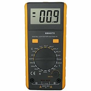 Lcr Meter Lcd Capacitance Inductance Resistance Tester Measuring Self discharge