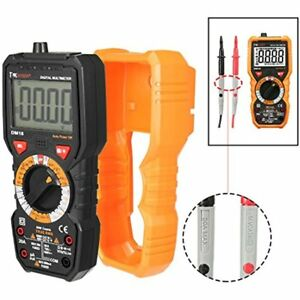 Digital Multimeter Dc Ac Voltage Current Ohm Meter Resistance Capacitance Tester