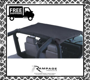 Rampage 92815 California Brief Soft Top For 1992 1995 Jeep Wrangler yj