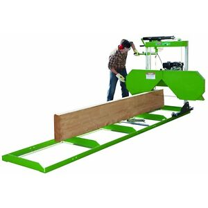 Portable saw Mill With 301cc Gas Engine