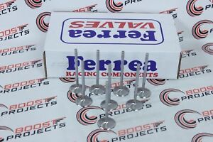 Ferrea Competition Hollow Stem Exhaust Valves 1 615 For Sbc Small Block Ls7