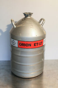 Mve Cryogenics Orion Et 17 Cryo biological System Liquid Nitrogen Dewar Tank