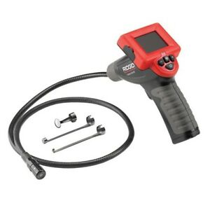 Jobsite Inspection Camera Power Tool 2 4in Lcd Screen Display Cable Imager Head