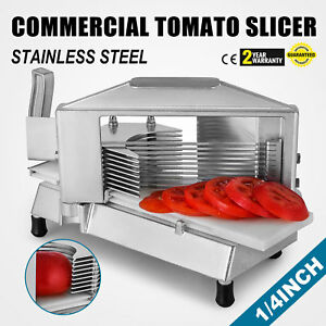 Commercial Fruit Tomato Slicer 1 4 cutting Machine Cutter Vegetable Kitchen