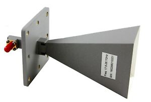 17 6ghz To 26 7ghz 20db Gain Horn Antenna With K f Connector