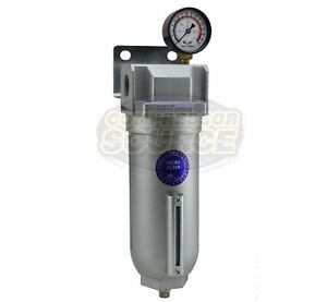 1 Large Body Industrial Compressed Air In Line Oil Coalescing Filter Oilesser